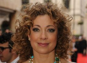 Alex Kingston is famous for her thick curls, at last year's Television Awards stylists kept it natural and luscious. 