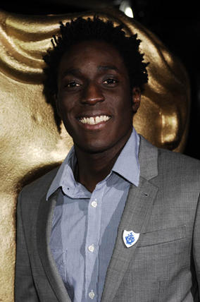 Blue Peter's Andy Alkinwolere at the EA British Academy Children's Awards in 2008.