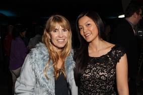 BAFTA Los Angeles Board Member Julia Verdin and Games Committee's Jennie Kong