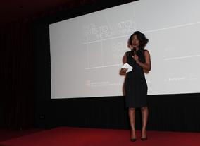Amma Asante introduced her film Belle in Los Angeles.