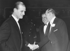 The Duke of Edinburgh was the organisations first president in 1959, a year after The Society of Film and Television Arts was formed.