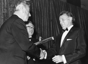 The Earl Mountbatten of Burma, The Duke of Edinburgh's uncle, was BAFTA's president from 1966 to 1972.