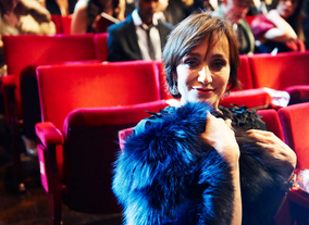 Kristin Scott Thomas at the 2010 BAFTAs.