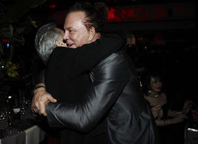 Mickey Rourke at the 2010 Film Awards