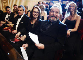 Terry Gilliam, photographed at the 2010 Film Awards