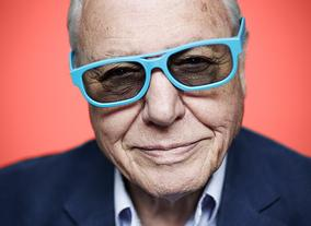 Television Awards Photo Shoot 2014: Sir David Attenborough