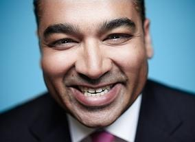 Television Awards Photo Shoot 2014: Krishnan Guru-Murthy
