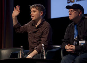 Filmmaker and VFX artist Gareth Edwards discusses recent film Monsters with Colin Goudie.