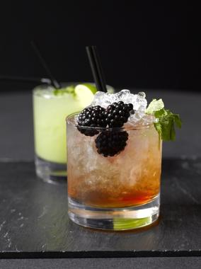 Bramble Mojito Cocktail
