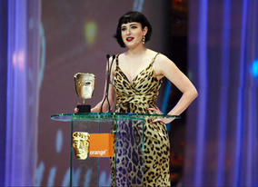 Debutante Diablo Cody scooped the Original Screenplay BAFTA for her sparkling teen-pregnancy drama Juno (pic: BAFTA / Camera Press).