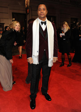 The Jerry Maguire actor, soon to be seen in action adventure Red Tails, will present the BAFTA for Special Visual Effects. He's pictured here in a suit by Hackett.