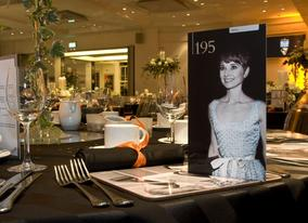 A classic film theme for your dinner at BAFTA 195