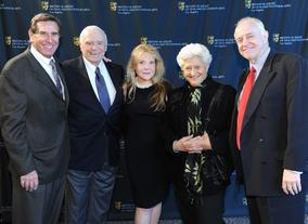 Donald Haber, Ernest Borgnine, Donna Neame, Marion Rosenberg and Brian Walton.