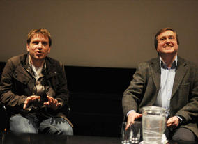 Screening and Q&amp;A with Monsters writer &amp; director Gareth Edwards in Glasgow.  Apart of a BAFTA regional tour. (Photograhy: Jenny Anderson)