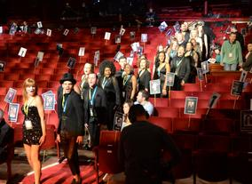 The Urban Voices Collective Choir Rehearsing Their EE British Academy Film Awards Performance