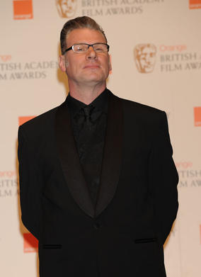 Brit film critic Mark Kermode announced The Girl With The Dragon Tattoo as the FNITEL winner. (Pic: BAFTA/ Richard Kendal)