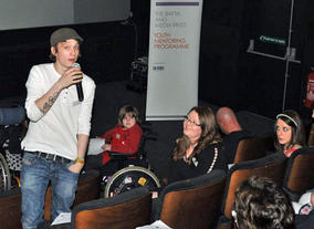 A representative of Glasgow Youth Film Festival describes the support provided by BAFTA Mentors.