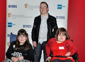 Young people from the Scottish Spina Bifida Association.