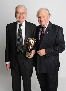 Sir David Jason presented the Special Award to animator Brian Cosgrove, creative genius behind many shows including DangerMouse and Count Duckula, for which Jason provided the voices.