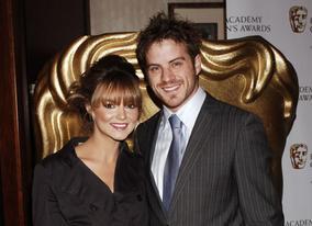 Eastenders' Kara Tointon and Robert Kazinsky at the awards ceremony. Kara later gave the Presenter award to Smile's Barney Harwood