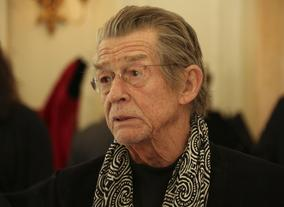 Actor John Hurt attended the event.