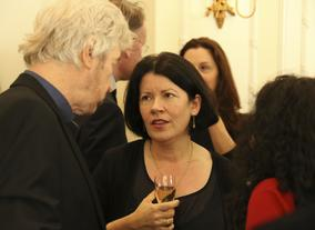 Pippa Harris (right) is the Deputy Chair of the Film Committee.