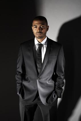 English actor, director and screenwriter Noel Clarke.