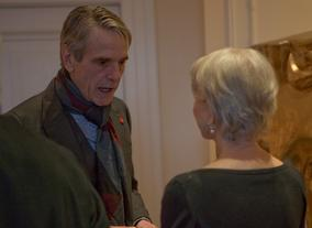 Helen Mirren and Jeremy Irons at the BAFTA Fellowship lunch hosted by Hackett.