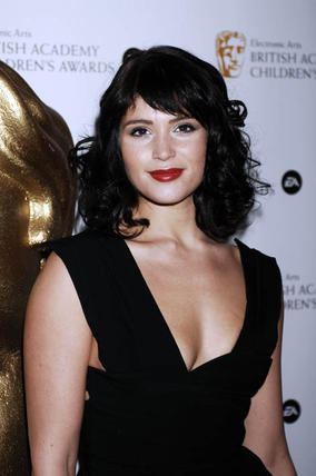 Bond Girl Gemma Arterton at the EA British Academy Children's Awards in 2008.