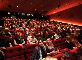The audience wait for the event to start in BAFTA's Princess Anne Theatre. (Picture: BAFTA / J. Simonds)