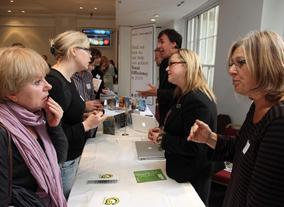 Greening the Screen Trade Fair. (Photography: J.Simmonds)