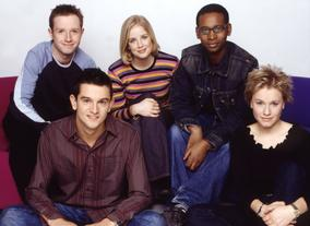 From left to right: Adam Fleming, Matthew Price, Becky Jago, Lizo Mzimba and Lizzie Greenwood-Hughes (Pics: BBC Photo Library)