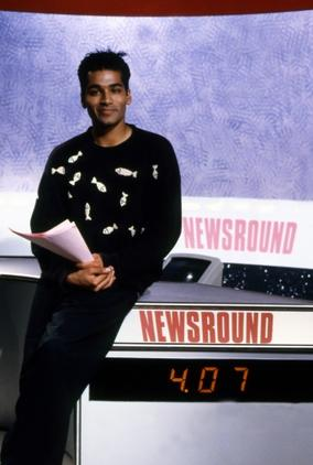 Krishnan presented the BBC children's news programme from 1991 to 1994 (Pics: BBC Photo Library)