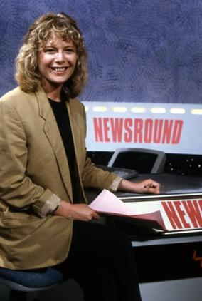 Juliet joined Newsround in 1990 and left the show after 5 years to present BBC Breakfast News (Pics: BBC Photo Library)