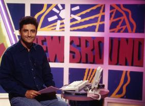 Paul Welsh, former Newsround presenter and reporter and later BBC news foreign correspondent. (Pics: BBC Photo Library)