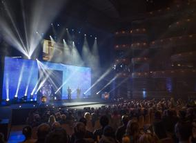 The awards were presented during a glittering ceremony at Wales Millennium Centre, Cardiff.