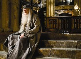 Michael Gambon took on the role of Hogwarts headmaster; Albus Dumbledore following the death of Richard Harris in 2002.