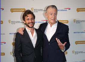 Hugh Dancy and Joel Schumacher