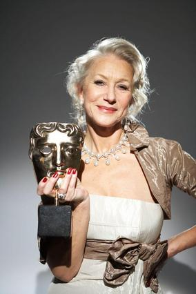 Helen Mirren at the Orange British Academy Film Awards in 2007.