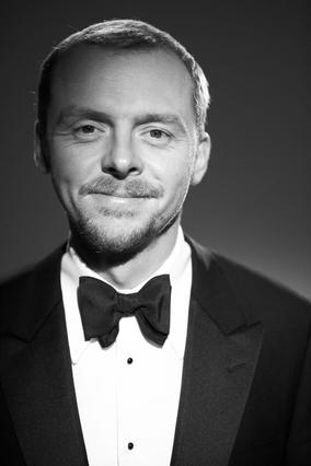 Simon Pegg at the Orange British Academy Film Awards in 2007.