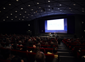 Kaufman takes questions from the audience at the BFI Southbank (Picture: BAFTA / J. Birch)