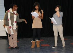 BAFTA Los Angeles Inner City Shakespeare Rehearsals