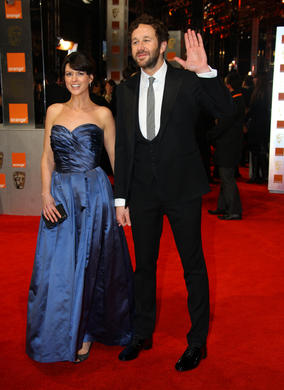 The Orange Wednesdays Rising Star nominee will also co-present the BAFTA for Outstanding Debut with his Bridesmaids co-star Kristen Wiig. O'Dowd is wearing Hackett, Porter is in William Vintage Dior.