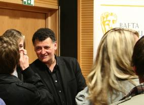 The Story of a Modern Day Adaption with Steven Moffat and Sue Vertue at the Kaleidoscopic Adaptations Festival.