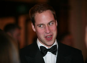 HRH Prince William arrives on the Orange British Academy Film Awards in 2010 before his confirmation as the Academy's fifth President (BAFTA/Dave Dettman).
