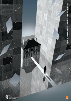 Inception brochure cover illustration by Adam Simpson