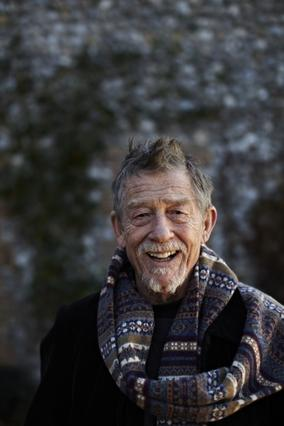 Official John Hurt Portrait by Ian Derry