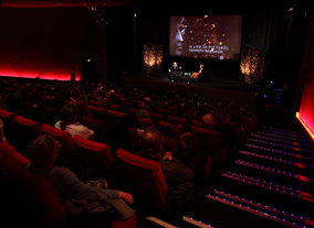 Guests gather in BAFTA London's Princess Anne Theatre. (Picture: BAFTA / J. Simonds)