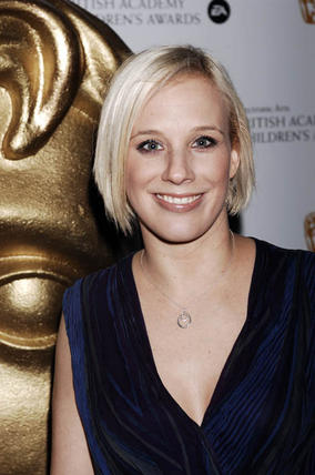 Kirsten Obrien arrives at the BAFTA Children's Awards 2008 ceremony