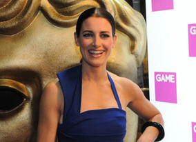 Kirsty Gallacher brings some glamour to the evening as she arrives to present the coveted Best Game BAFTA (BAFTA / James Kennedy).
